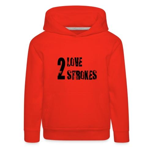 Love 2 Strokes - Felpa con cappuccio Premium per bambini