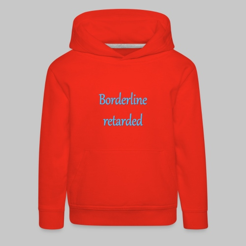 just stating facts - Kids' Premium Hoodie