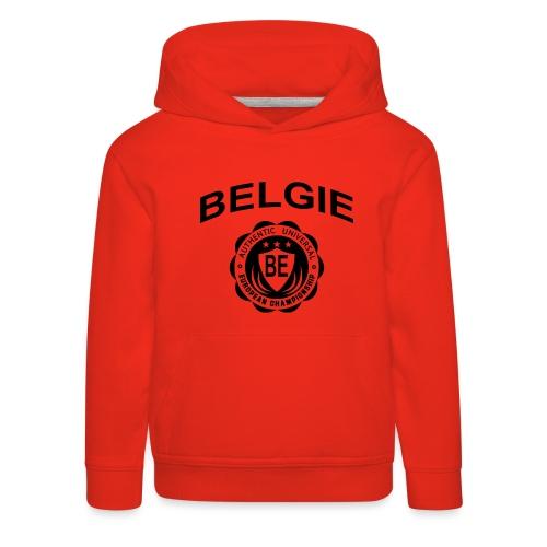 België - Kinderen trui Premium met capuchon