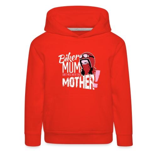Biker Mum T-Shirt - Kids' Premium Hoodie