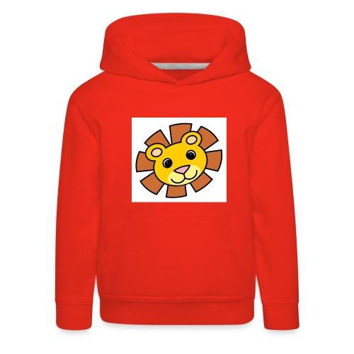 funimals_lejon_f--rg_-2- - Premium-Luvtröja barn