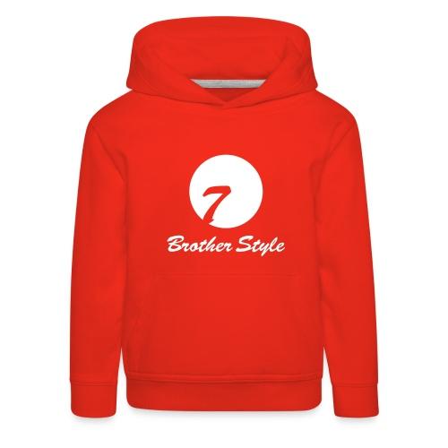 Brother Style Logo 3 - Kinder Premium Hoodie