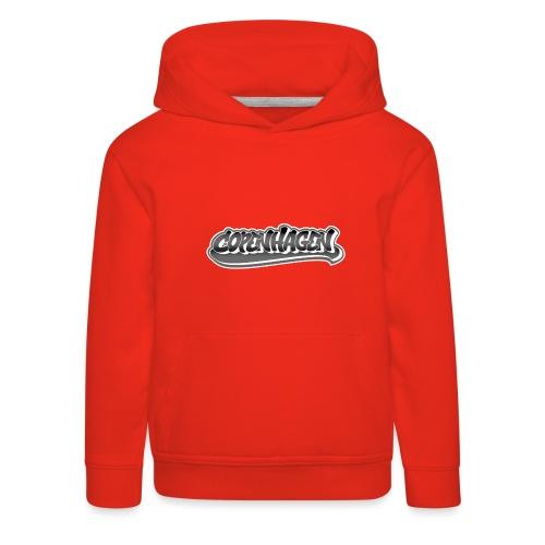 copenhagen graffiti style - Premium hættetrøje til børn