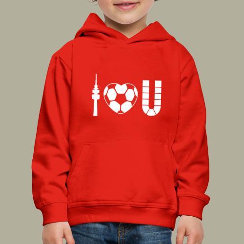 Dortmund I Love U - Kinder Premium Hoodie