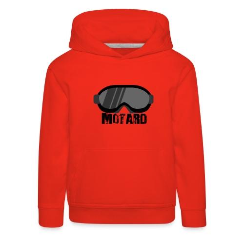 Motard Mask Moto Cross - Felpa con cappuccio Premium per bambini