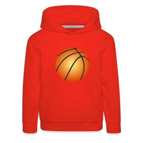 Basketball (2) - Kinderen trui Premium met capuchon