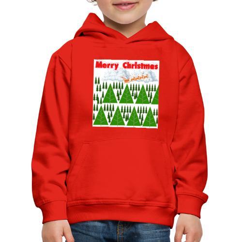 christmas time. Tempo di Natale - Felpa con cappuccio Premium per bambini