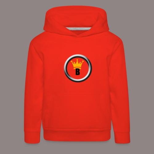 Bernado Logo Produkte - Kinder Premium Hoodie