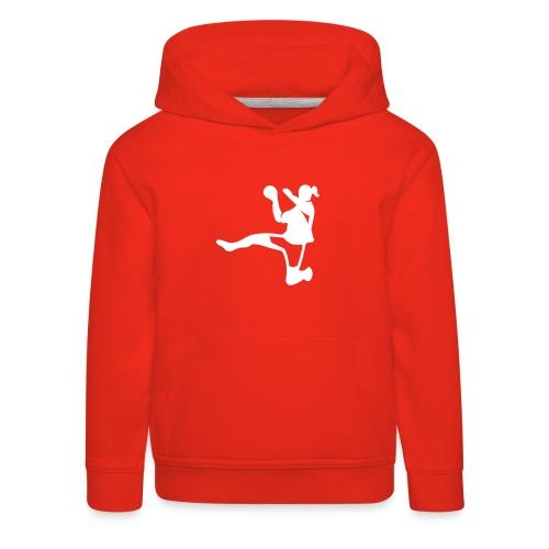 Handballerin - Kinder Premium Hoodie