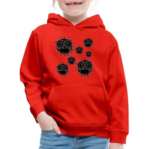 virus eseguire coronavirus covid19 allarme virus - Felpa con cappuccio Premium per bambini