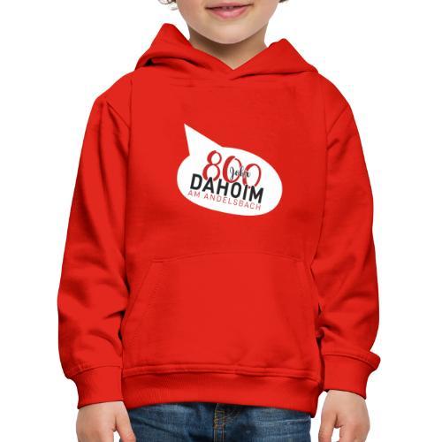 Dahoim am Andelsbach - ROT - Kinder Premium Hoodie