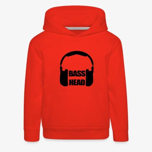basshead - Pull à capuche Premium Enfant