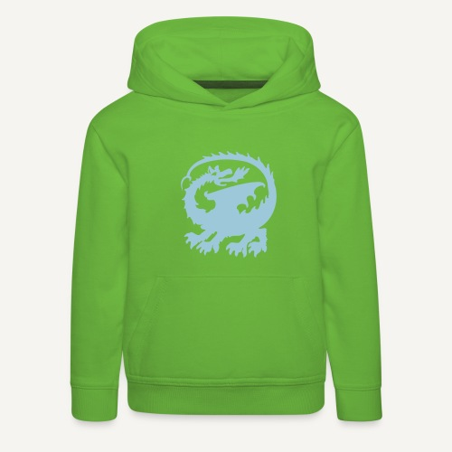 smok3 - Bluza dziecięca z kapturem Premium