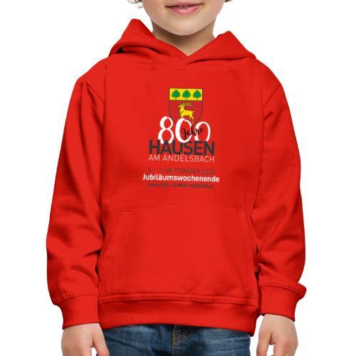 Jubiläum ROT - Kinder Premium Hoodie