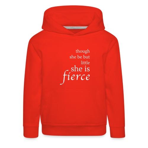 she-is-fierce - Kids' Premium Hoodie