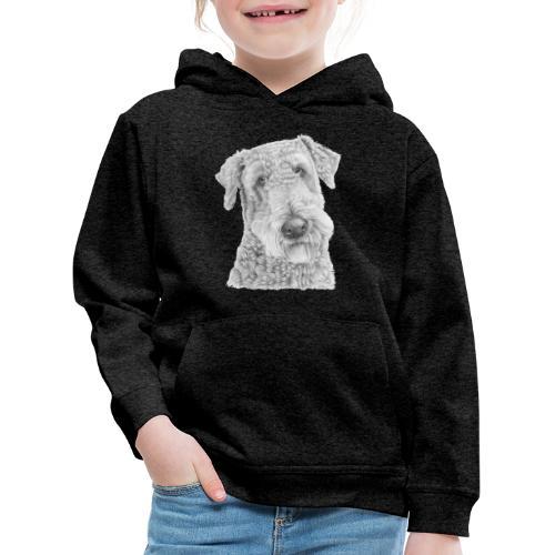 airedale terrier - Premium hættetrøje til børn