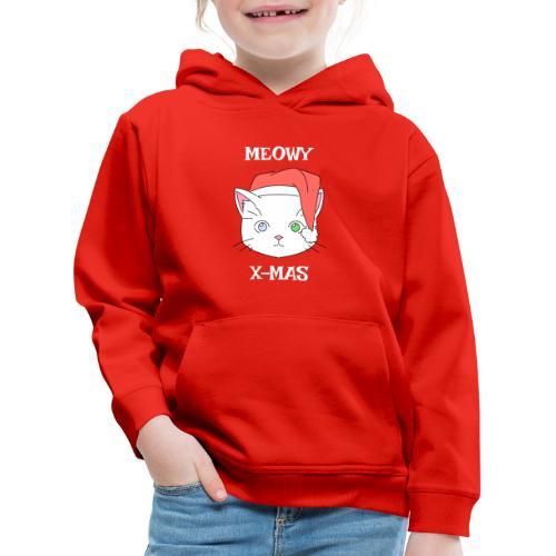 Meowy X-mas - Premium Barne-hettegenser