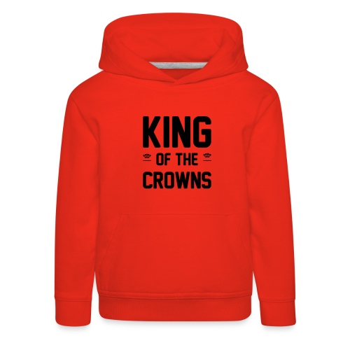 King of the crowns - Kinderen trui Premium met capuchon