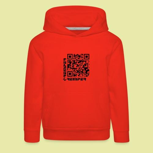 Tremper QR-Code - Kinder Premium Hoodie