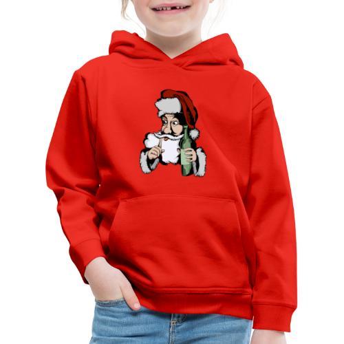 Père Noël Arrive - Santa is coming - Pull à capuche Premium Enfant