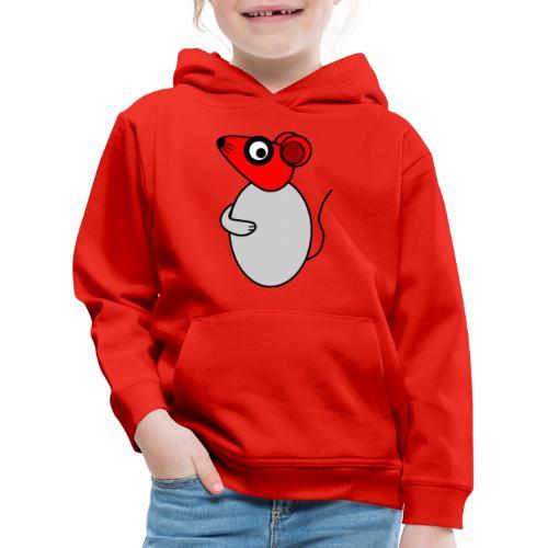 Rat - not Cool - c - Kids' Premium Hoodie