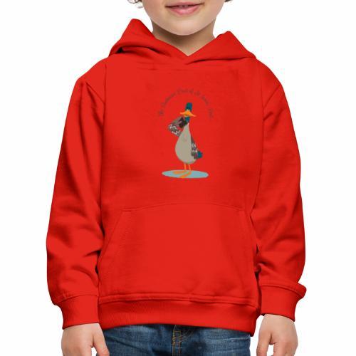 Anatra di Saint James Park - Felpa con cappuccio Premium per bambini