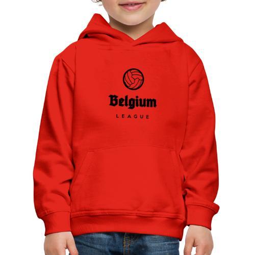 Belgium football league belgië - belgique - Pull à capuche Premium Enfant