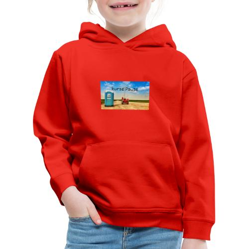 kurze Pause - Kinder Premium Hoodie