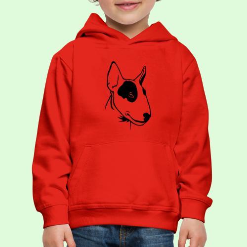 Bull Terrier - Pull à capuche Premium Enfant