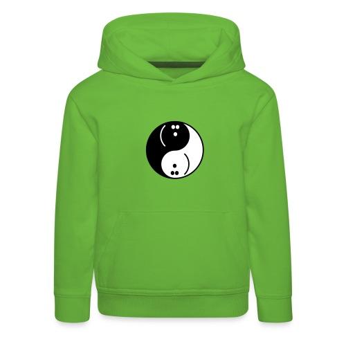 Bowling Yin-Yang - Kids' Premium Hoodie