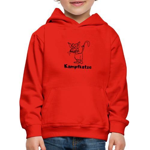 Kampfkatze - Kinder Premium Hoodie