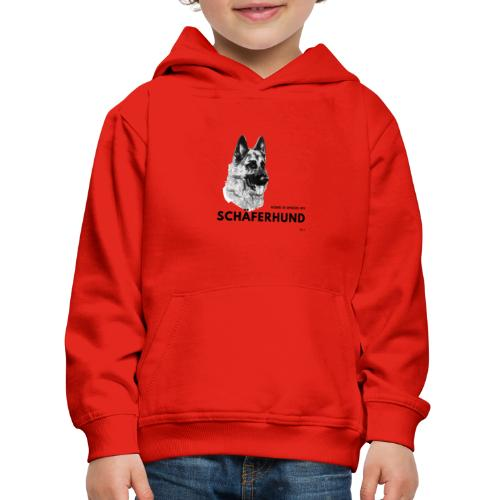 Home is where my Schäferhund is ! - Kinder Premium Hoodie