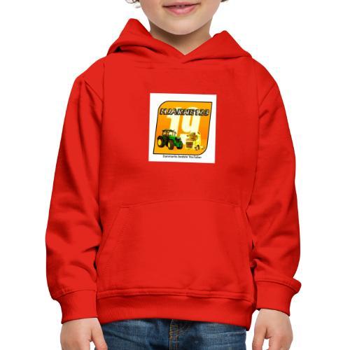hjarne 123 danmarks bedeste youtuber - Premium hættetrøje til børn