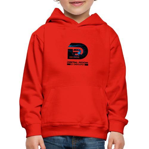 Digital Room Records Official Logo effect - Kids' Premium Hoodie