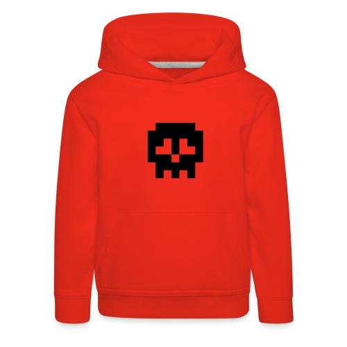 Retro Gaming Skull - Kids' Premium Hoodie