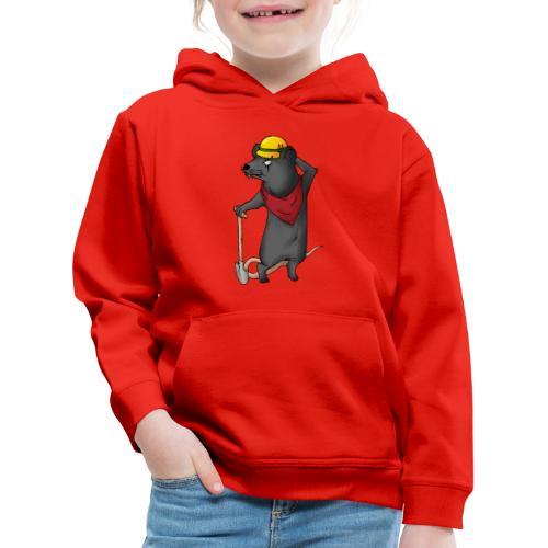 Arbeiter Ratte - Kinder Premium Hoodie