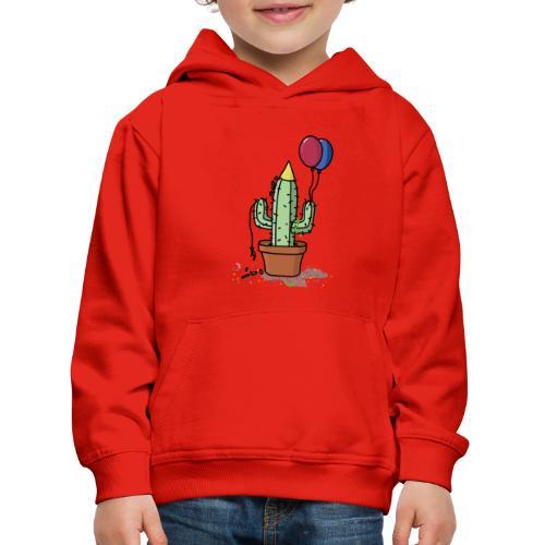 Flowercontest cactus party - Kinderen trui Premium met capuchon
