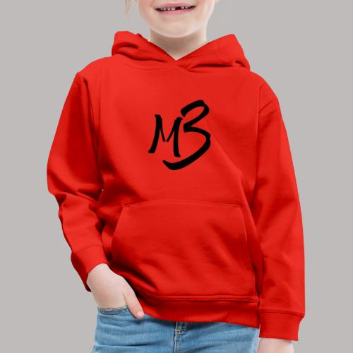 MB13 logo - Kids' Premium Hoodie