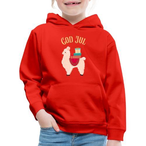 God jul - Premium Barne-hettegenser