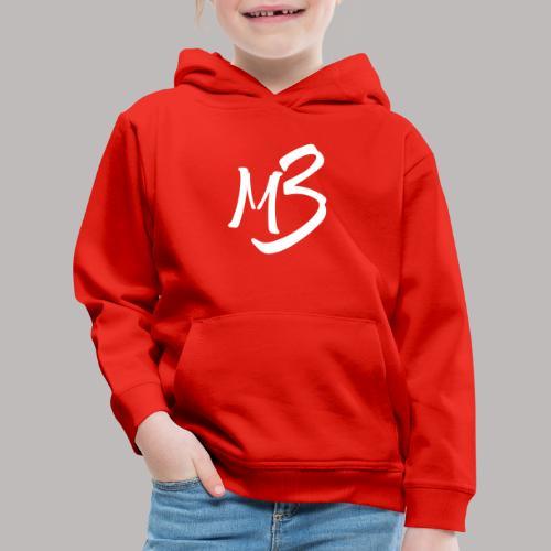 MB 13 white - Kids' Premium Hoodie