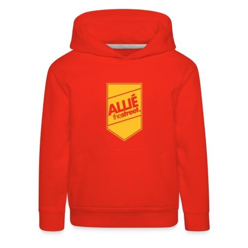 allie7 - Bluza dziecięca z kapturem Premium