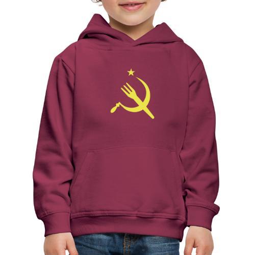 Fourchette en sikkel - USSR - belgië - belgique - Pull à capuche Premium Enfant
