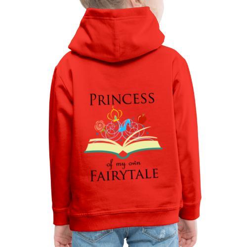 Princess of my own fairytale - Black - Kids' Premium Hoodie