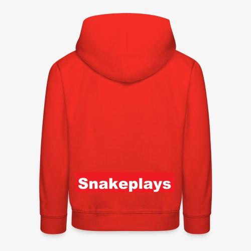 snakeplays original - Premium Barne-hettegenser