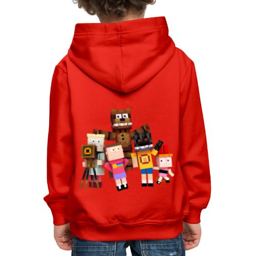 Withered Bonnie Productions - Meet The Gang - Kids' Premium Hoodie