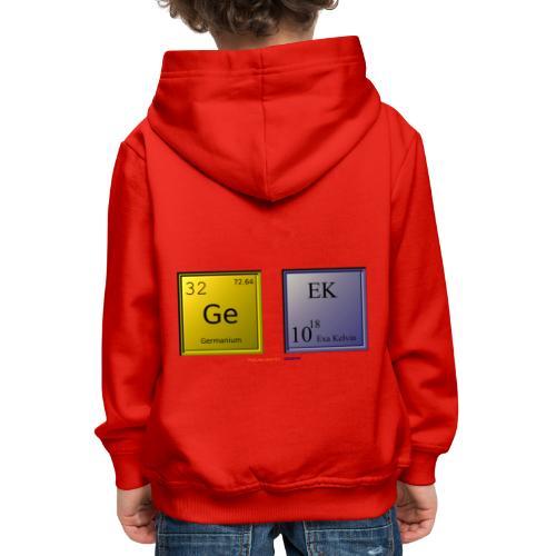 GEEK IV - Pull à capuche Premium Enfant