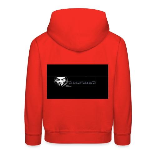 ix anonymous ix - Kids' Premium Hoodie
