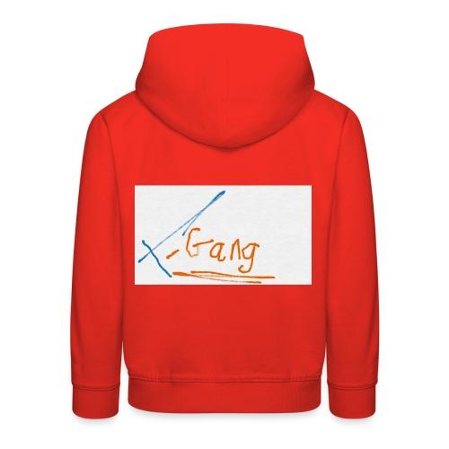 t gang logo - Kids' Premium Hoodie