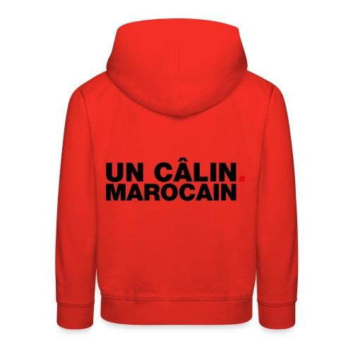 Un câlin Marocain - Kinderen trui Premium met capuchon