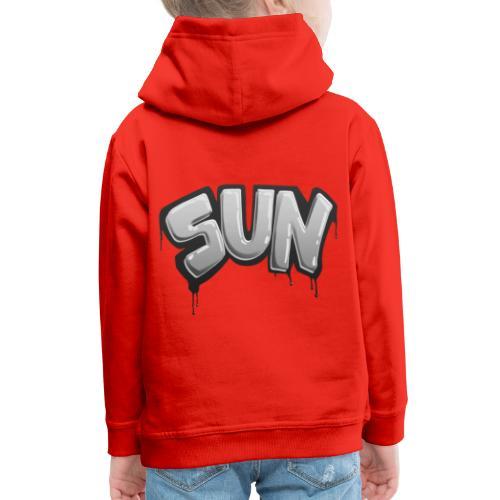 Tag Sun N&B - Pull à capuche Premium Enfant